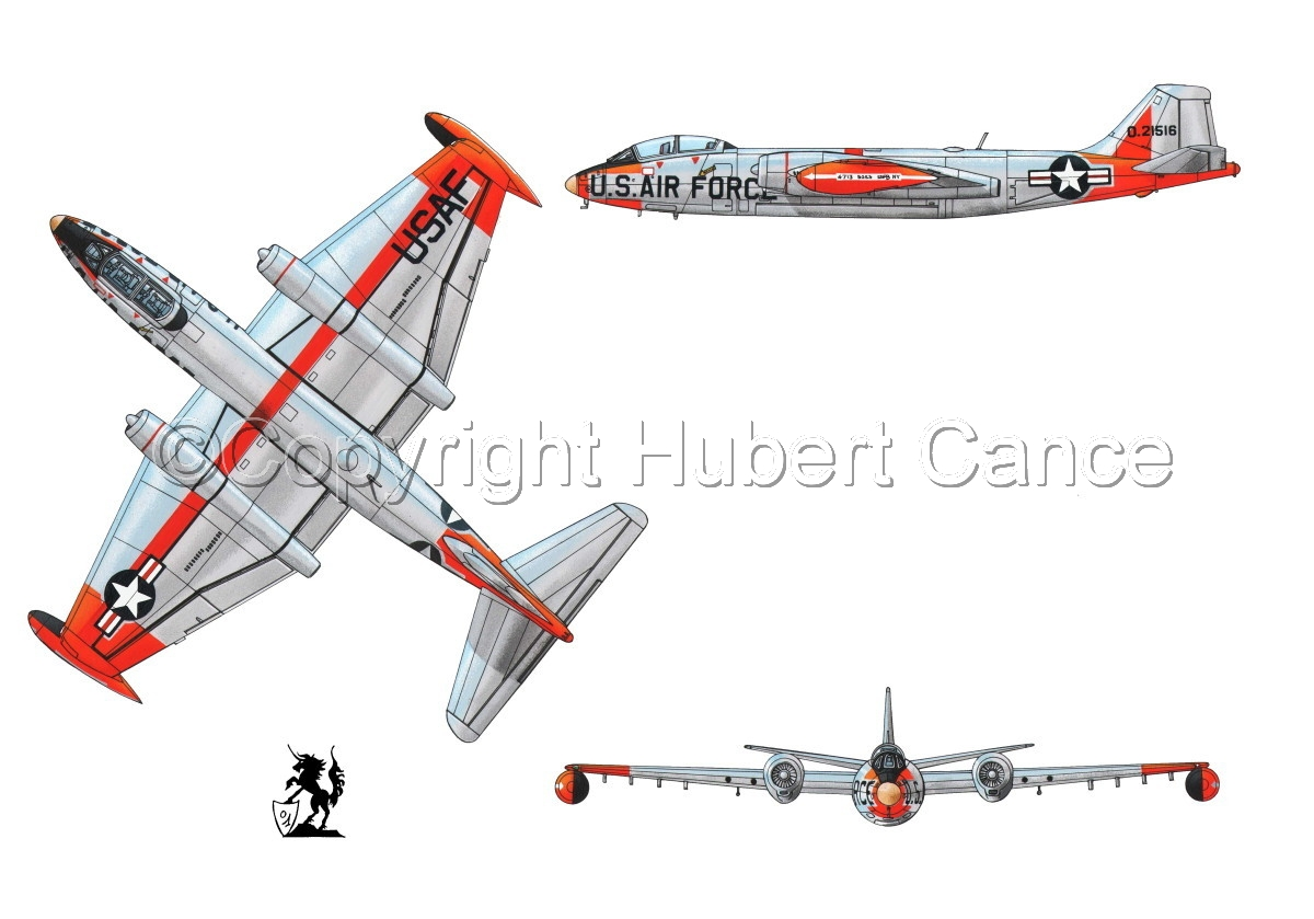 """Martin B-57B """"Canberra"""" #1 (large view)"""