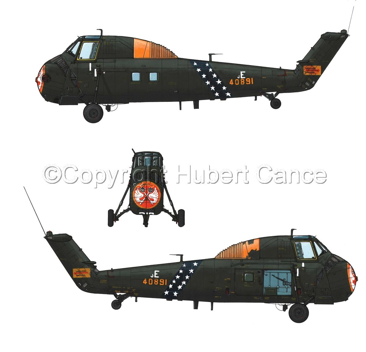 """Sikorsky H-34 """"Choctaw"""" VNAF #4.1 (large view)"""