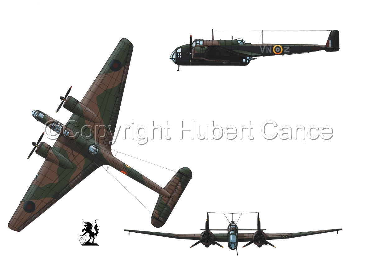 "Handley Page ""Hampden"" B.1 (large view)"