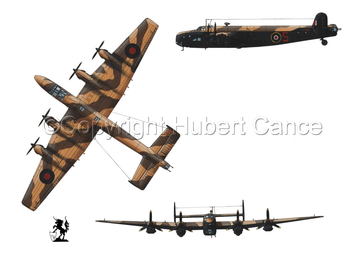 """Handley-Page """"Halifax"""" B.II Series 1 (Special) #1 (large view)"""