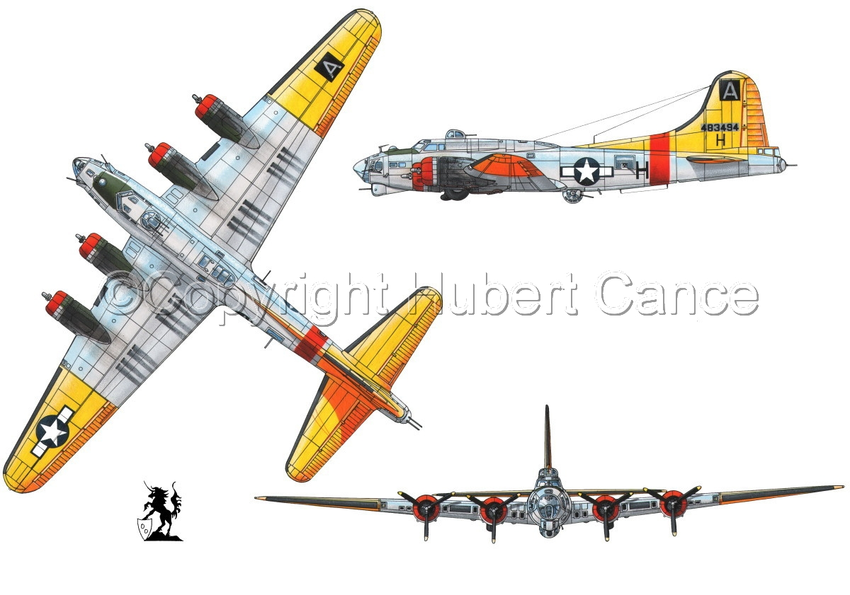 """Boeing B-17G-85-DL """"Flying Fortress"""" #1 (large view)"""