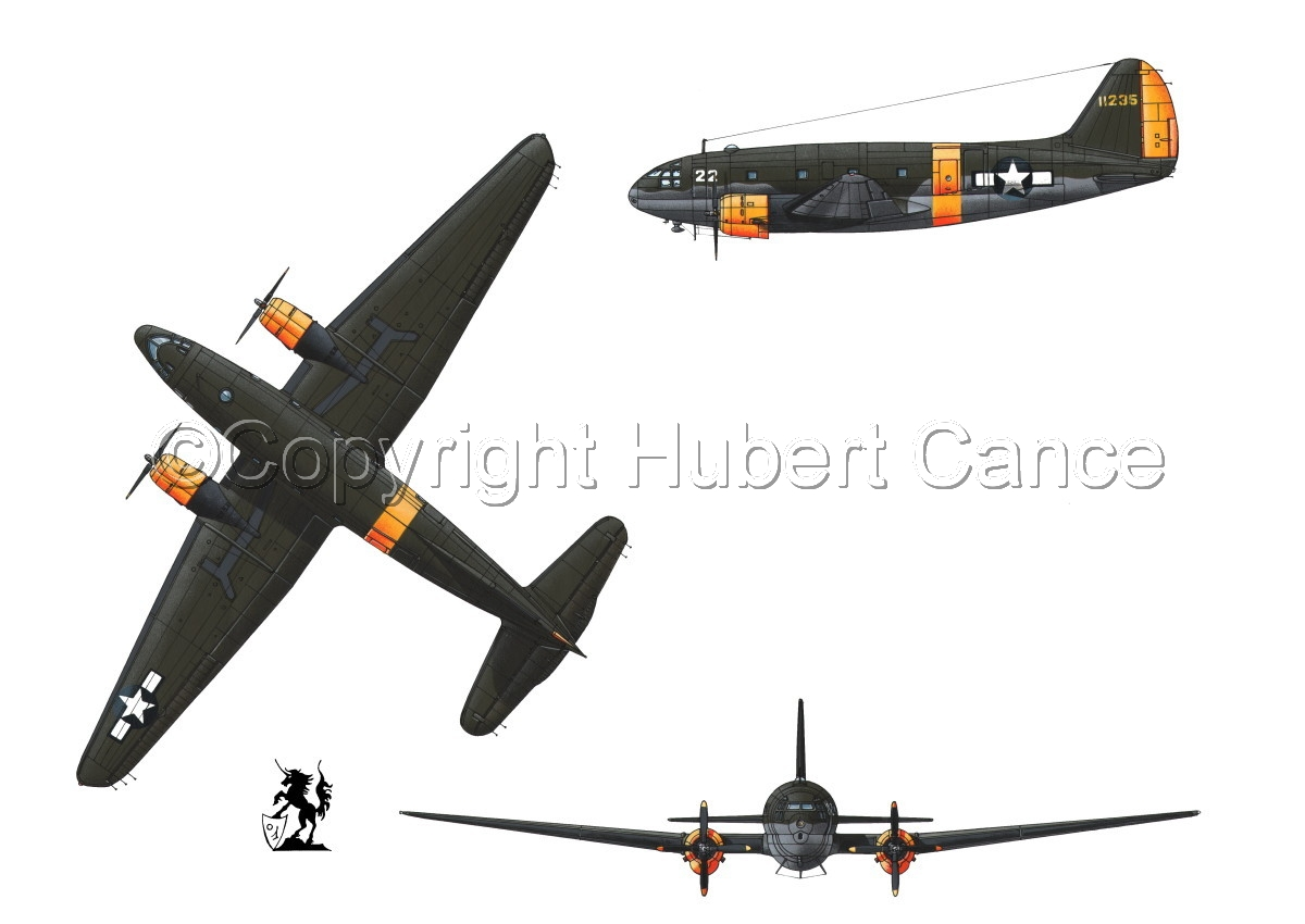 "Curtiss C-46A-15 CU ""Commando"" #1 (large view)"