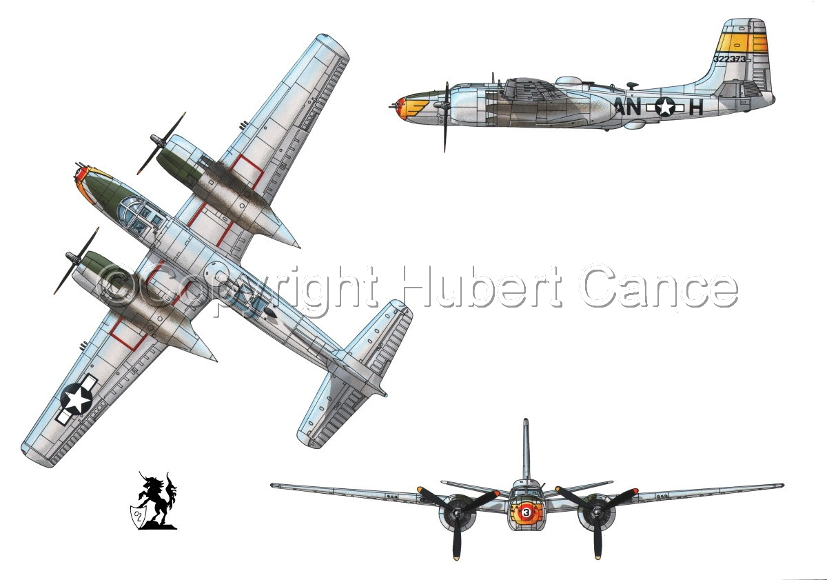 "Douglas A-26B ""Invader"" (large view)"