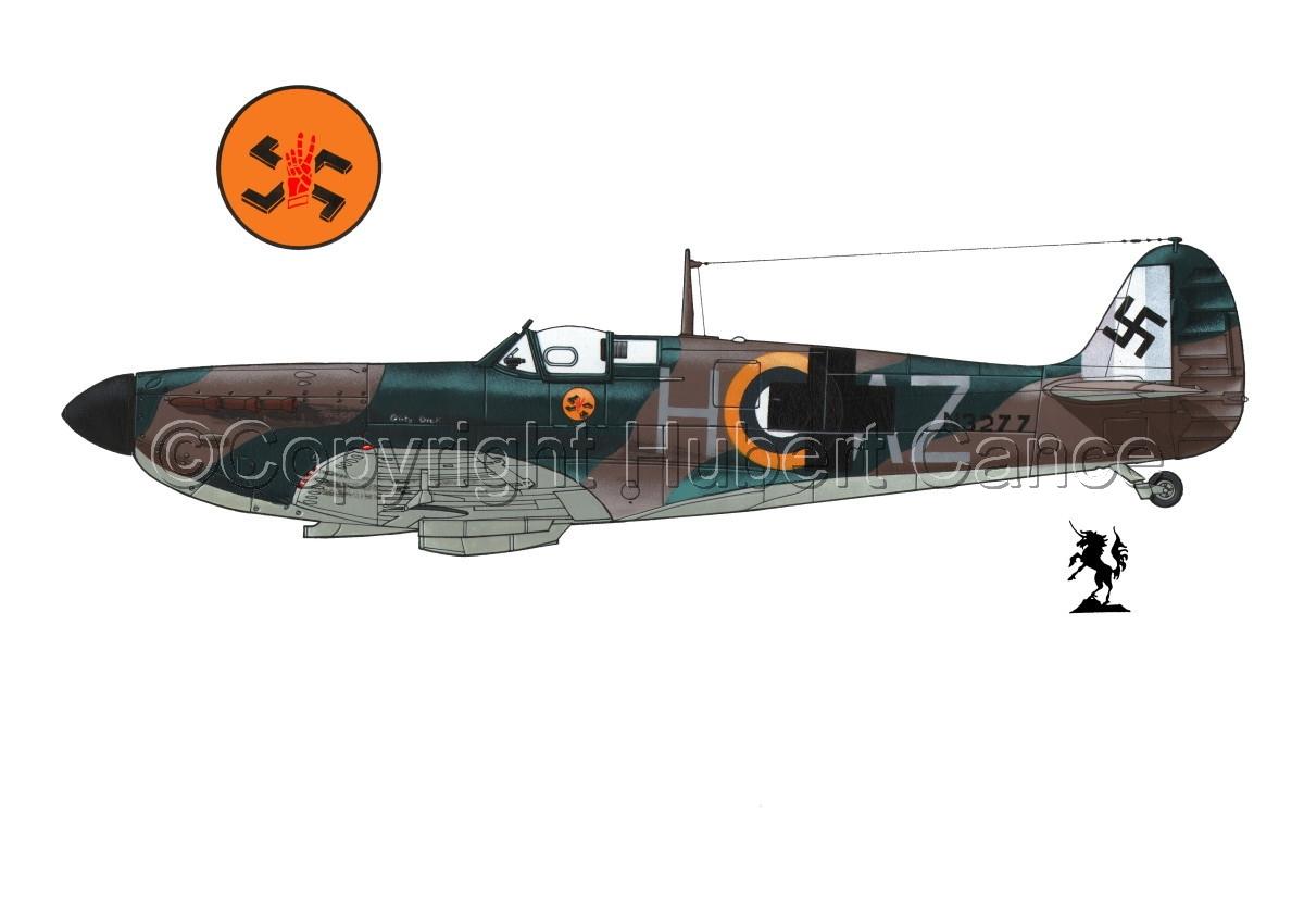 "Supermarine ""Spitfire"" Mk.Ia #4.1 (large view)"