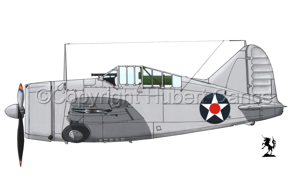 """Brewster F2A-1 """"Buffalo"""" #2.1 (large view)"""