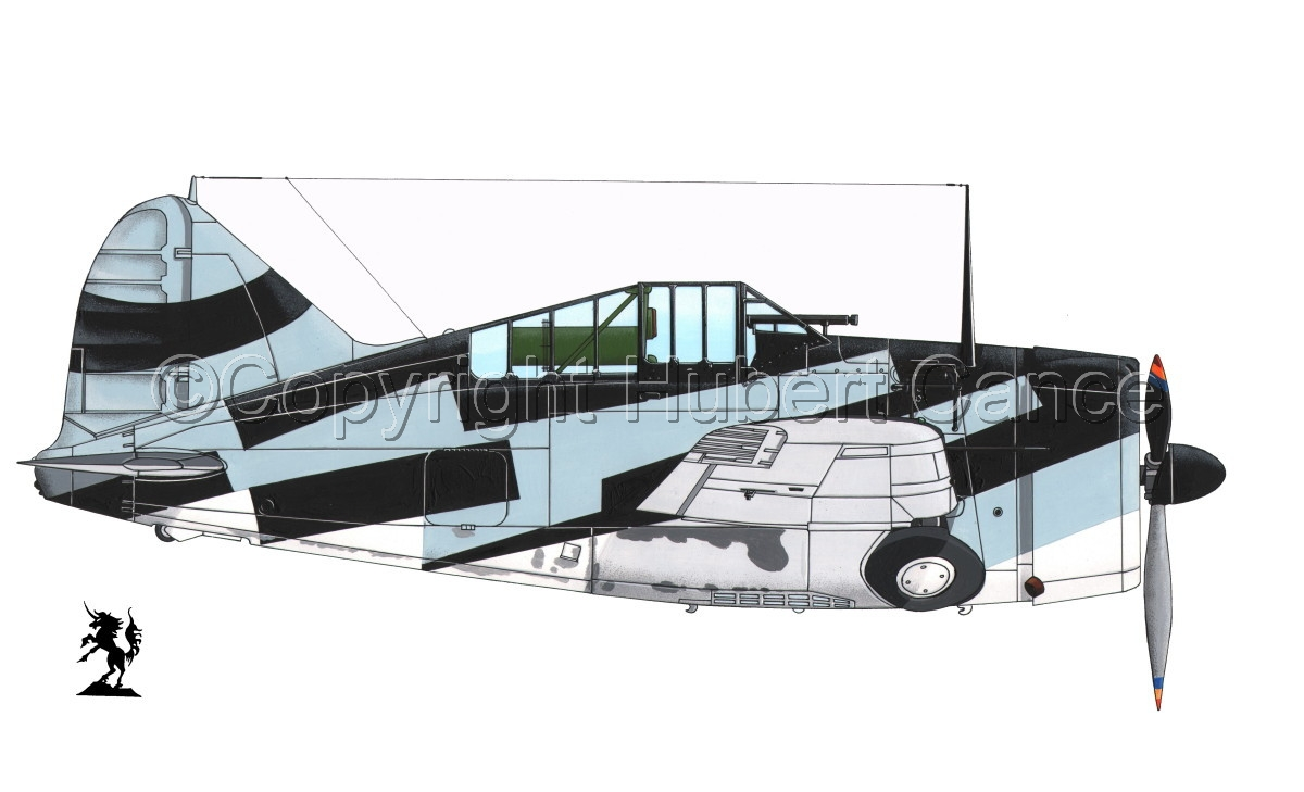 """Brewster F2A-1 """"Buffalo"""" #3bis.1 (large view)"""
