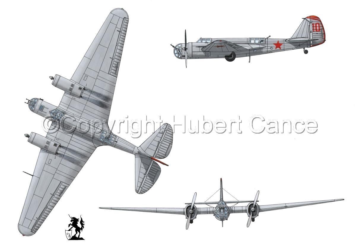 """Tupolev SB-2 """"Katyusha"""" #1 (large view)"""