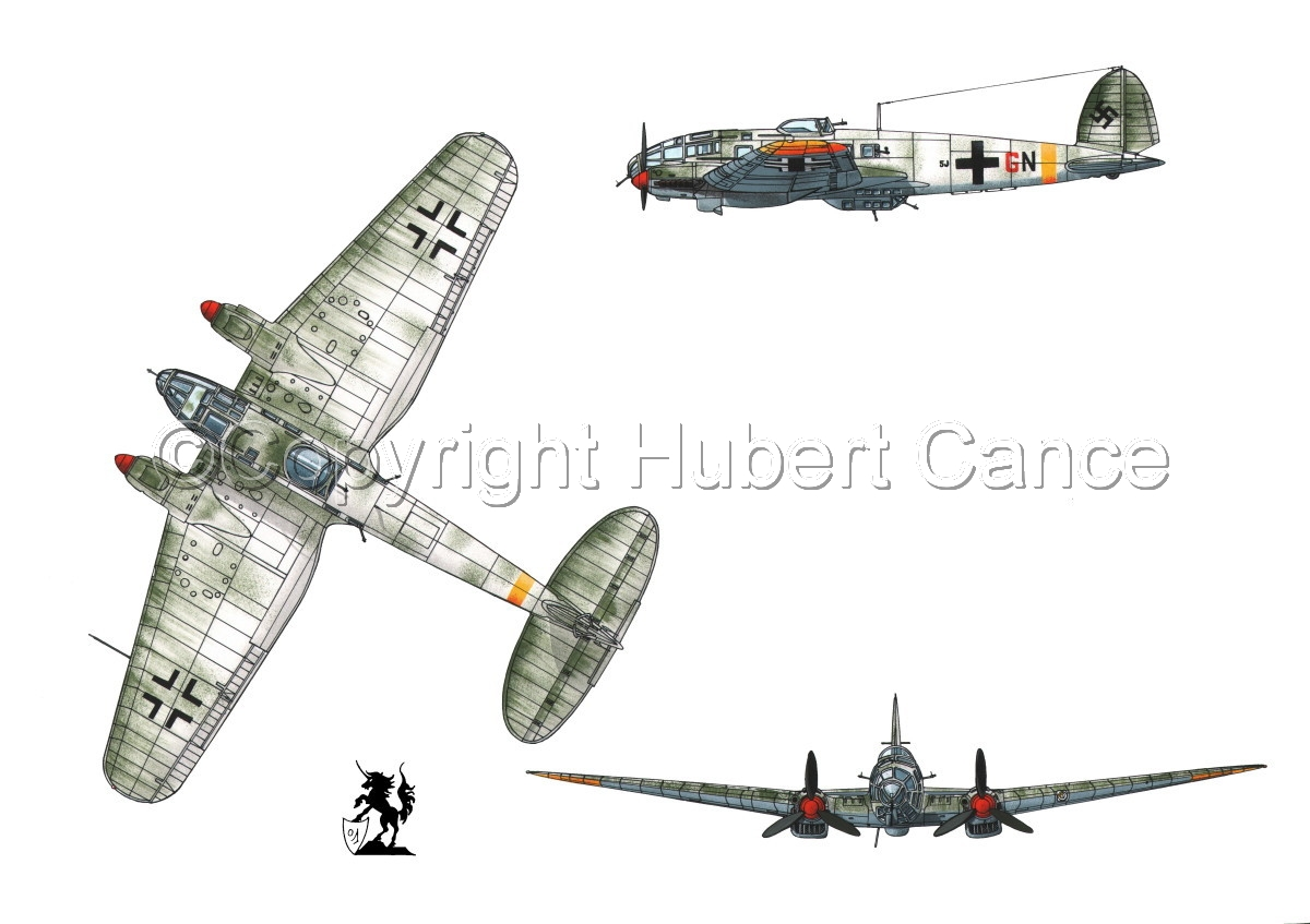 Heinkel He 111H-16 #1 (large view)