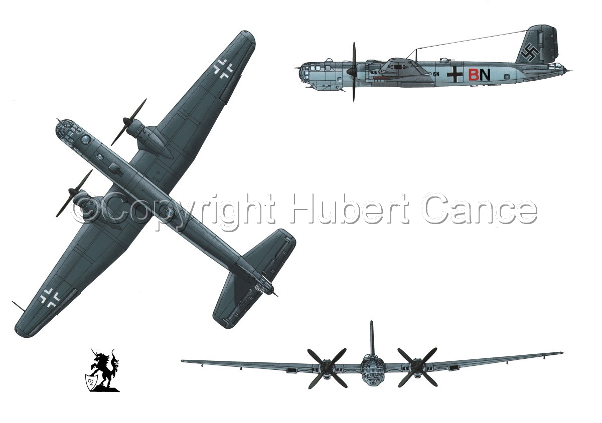 "Heinkel He 177A-5 ""Greif"" #1 (large view)"