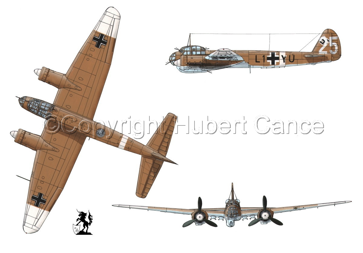Junkers Ju 88A-4 #1 (large view)