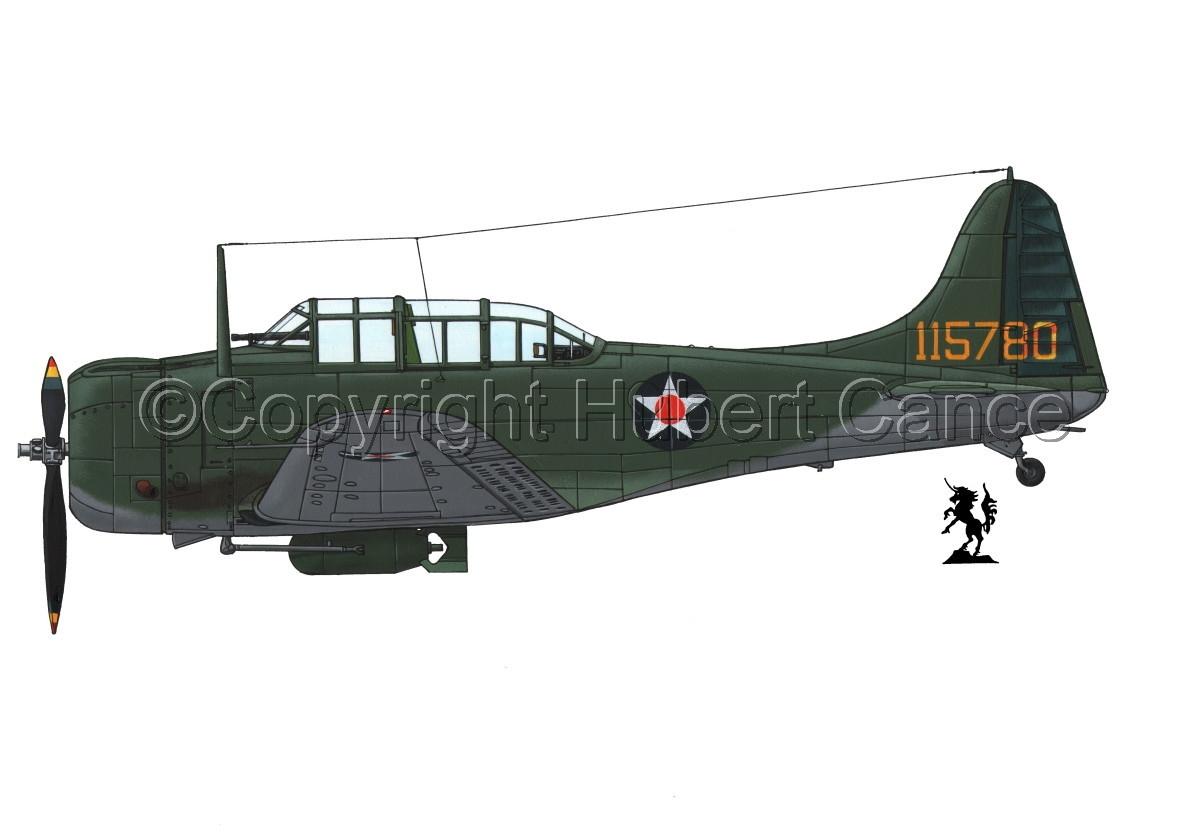 "Douglas A-24-DE ""Banshee"" #1.1 (large view)"