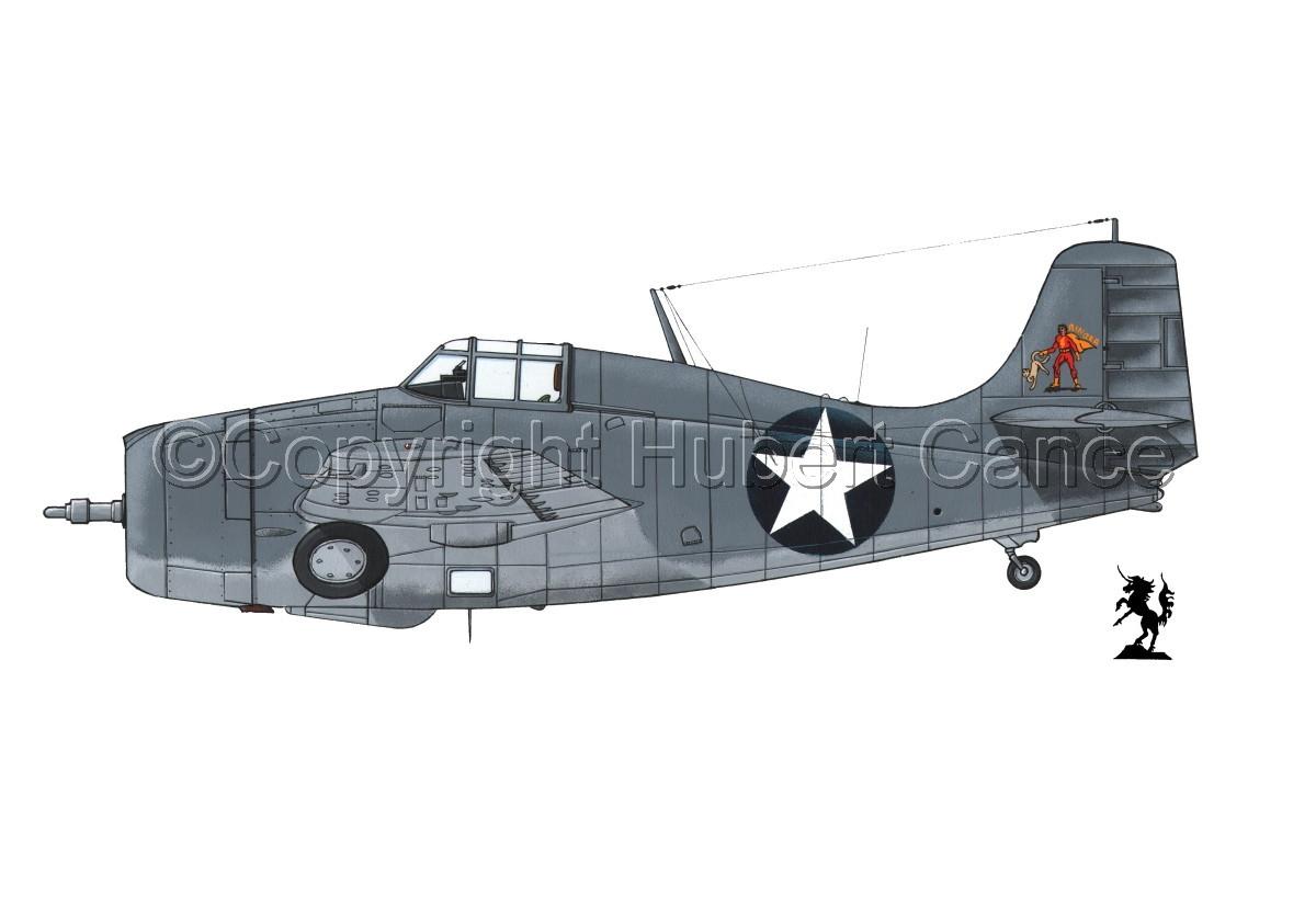 """Grumman F4F-4 """"Wildcat"""" (large view)"""