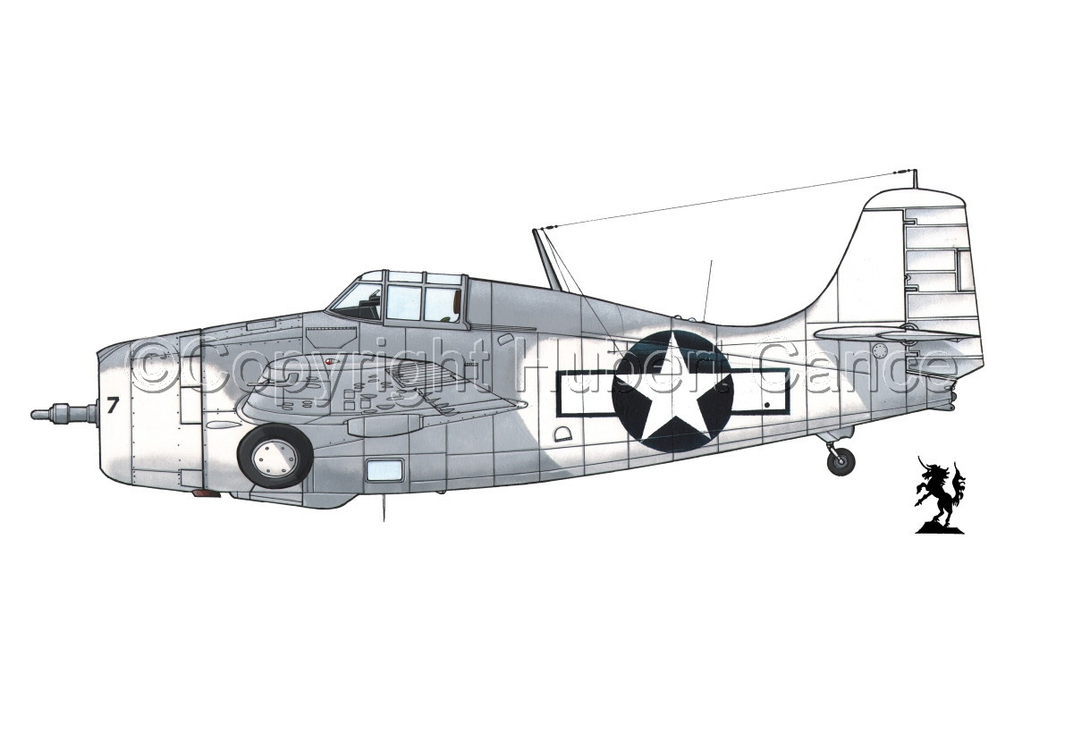 "Grumman F4F-4 ""Wildcat"" #2.1 (large view)"