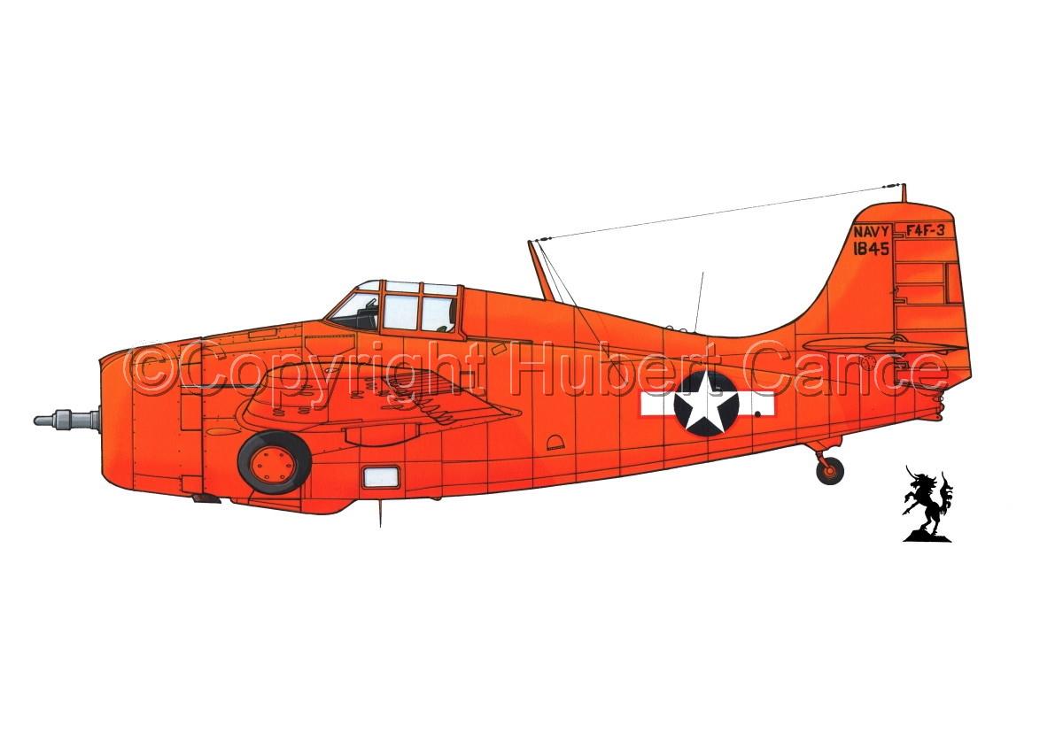 """Grumman F4F-3 """"Wildcat"""" #1.1 (large view)"""