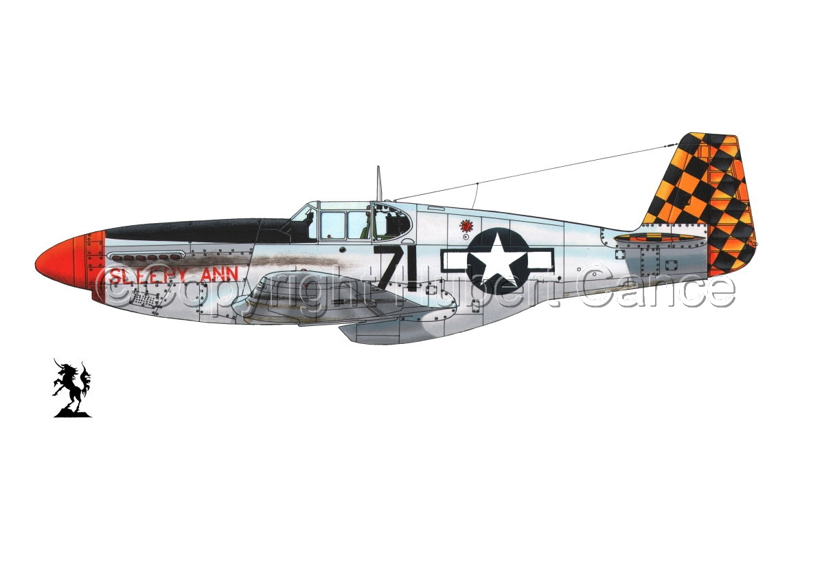 """North American P-51B """"Mustang"""" #1.1 (large view)"""