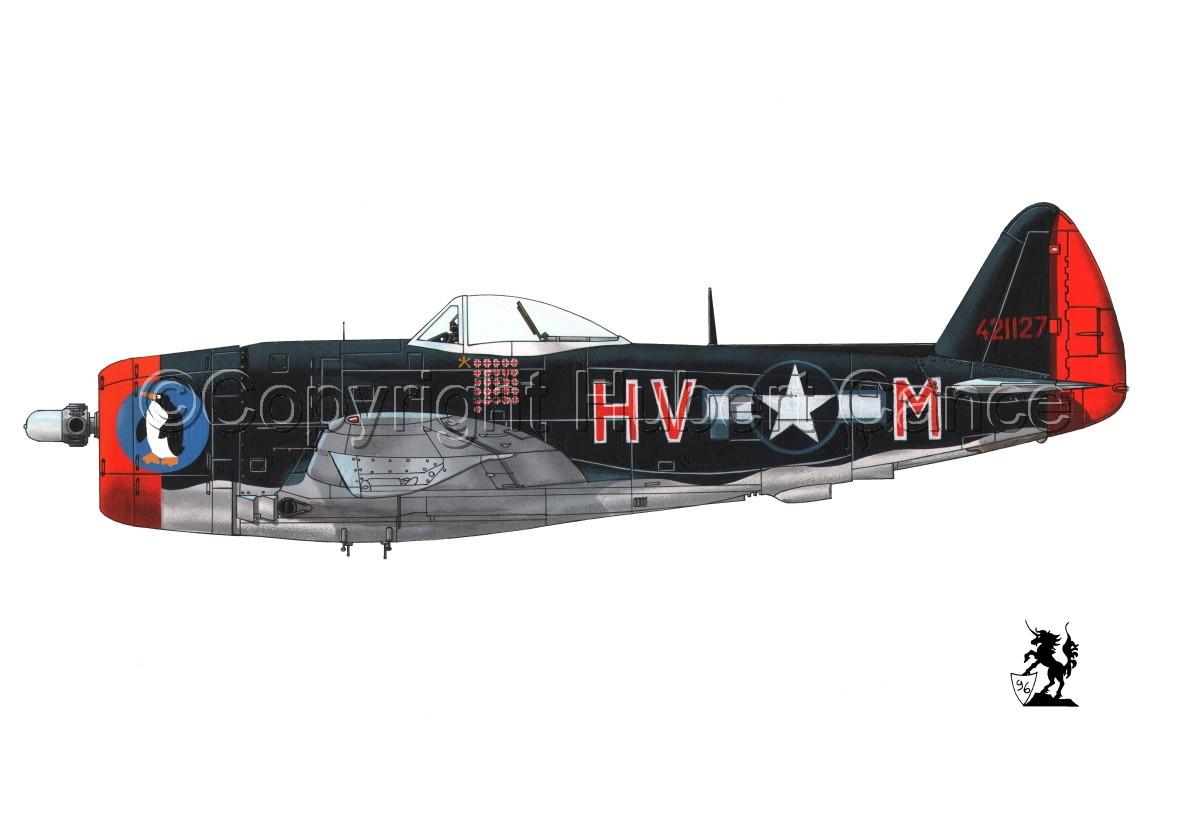 """Republic P-47D-30 """"Thunderbolt"""" #1.1 (large view)"""