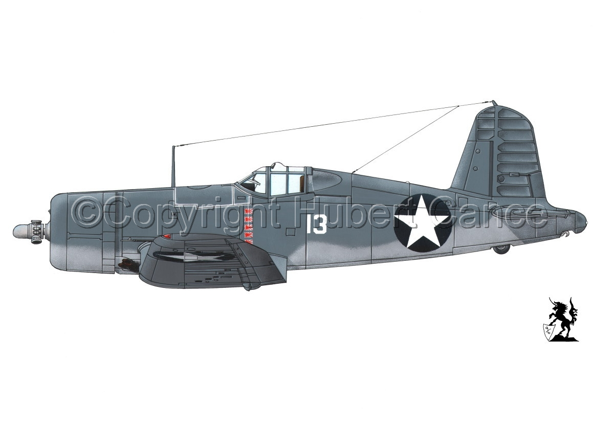 "Chance-Vought F4U-1 ""Corsair"" #1 (large view)"