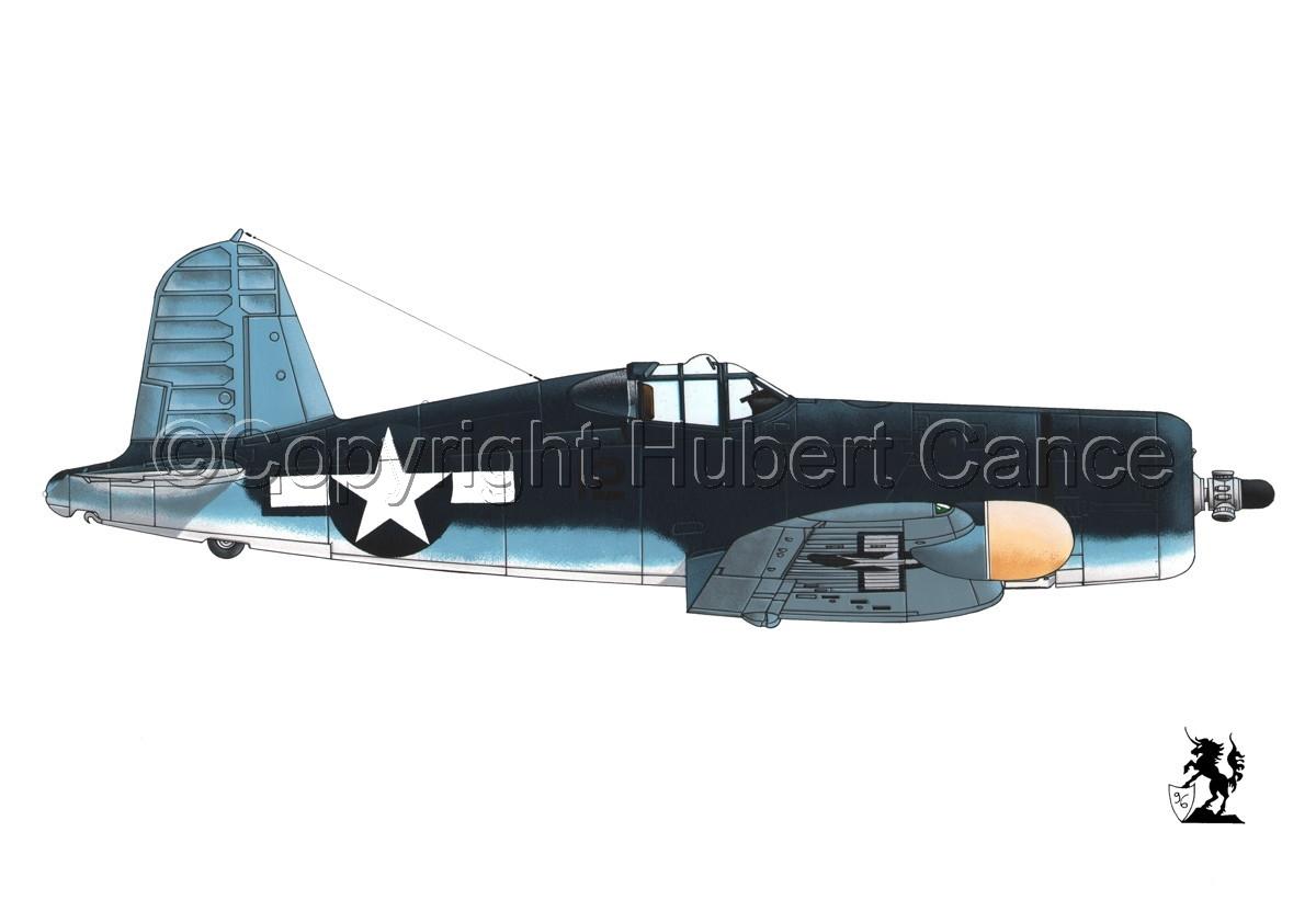 """Chance-Vought F4U-2 """"Corsair"""" #1 (large view)"""