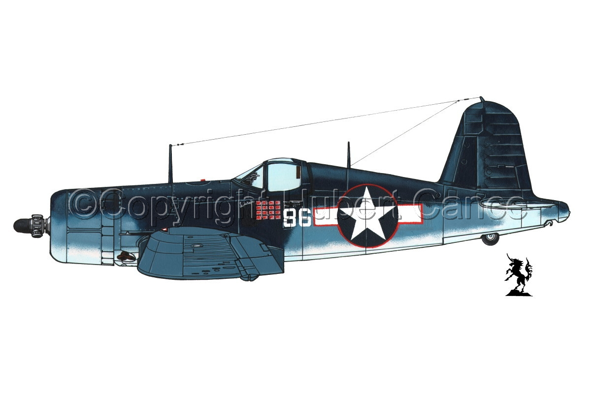 "Chance-Vought F4U-1A ""Corsair"" #1.1 (large view)"