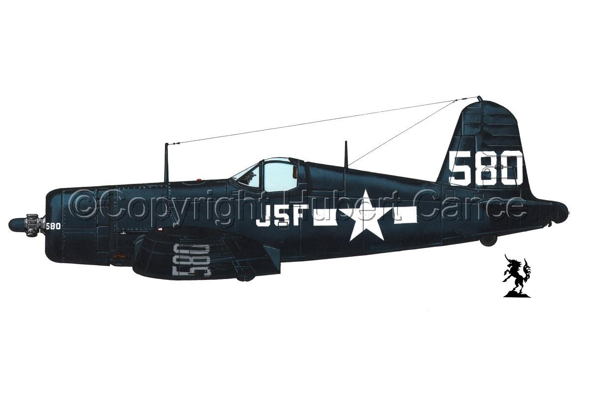 """Chance-Vought F4U-1A """"Corsair"""" #2.1 (large view)"""