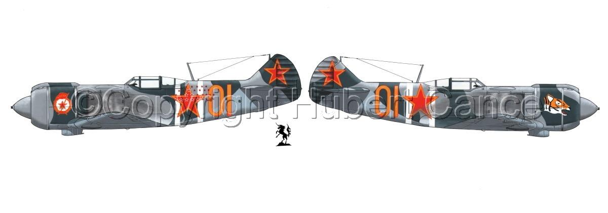 """Lavochkin La-5FN"" Panoramic 2-Views #1.1 (large view)"
