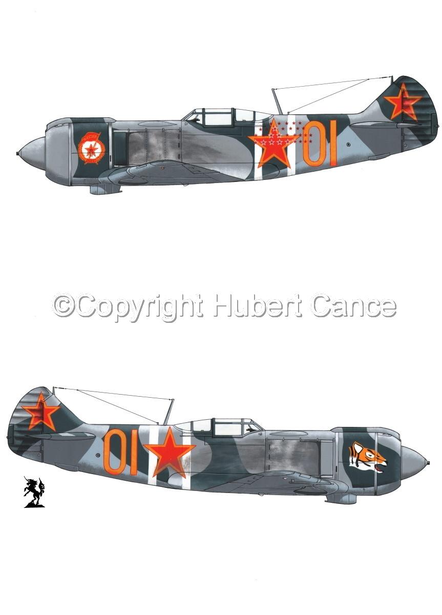"""""""Lavochkin La-5FN"""" 2-Views #1.1 (large view)"""