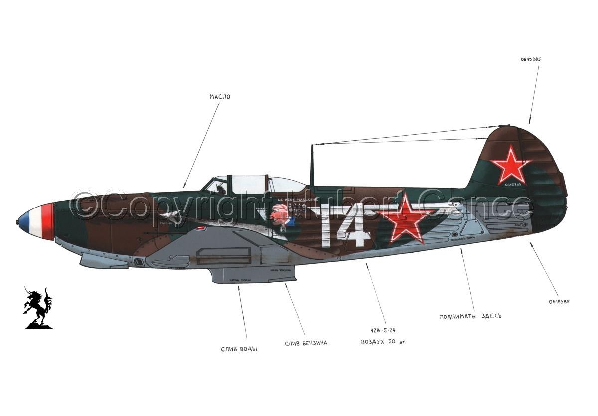 Yakovlev Yak-9D #1.1 (large view)