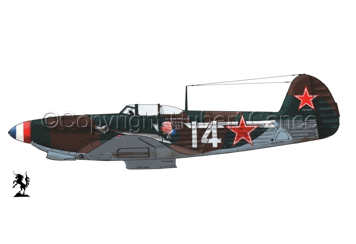 Yakovlev Yak-9D #1bis.1 (large view)