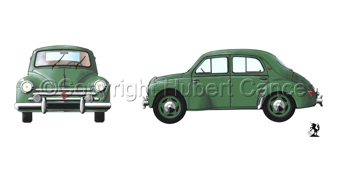 Renault 4CV 2-Views #1 (large view)