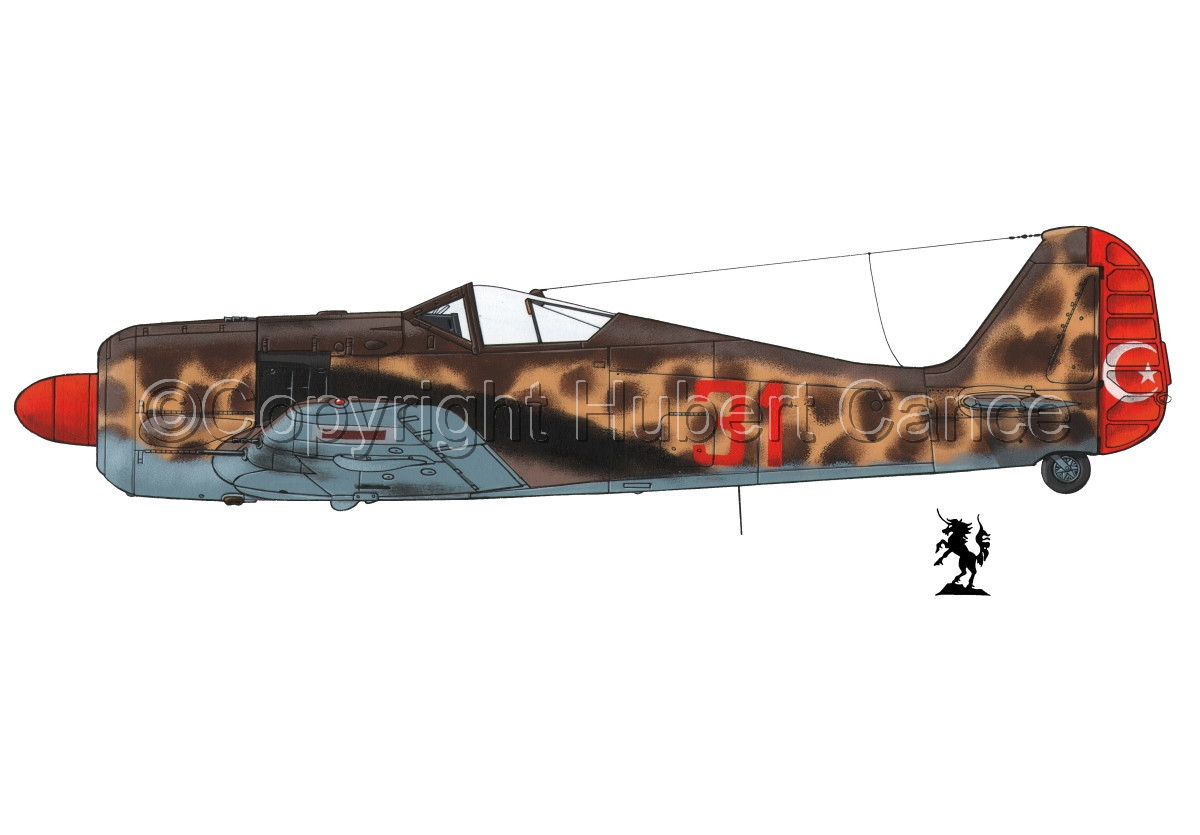 Focke-Wulf Fw 190A-3 #3.1 (large view)
