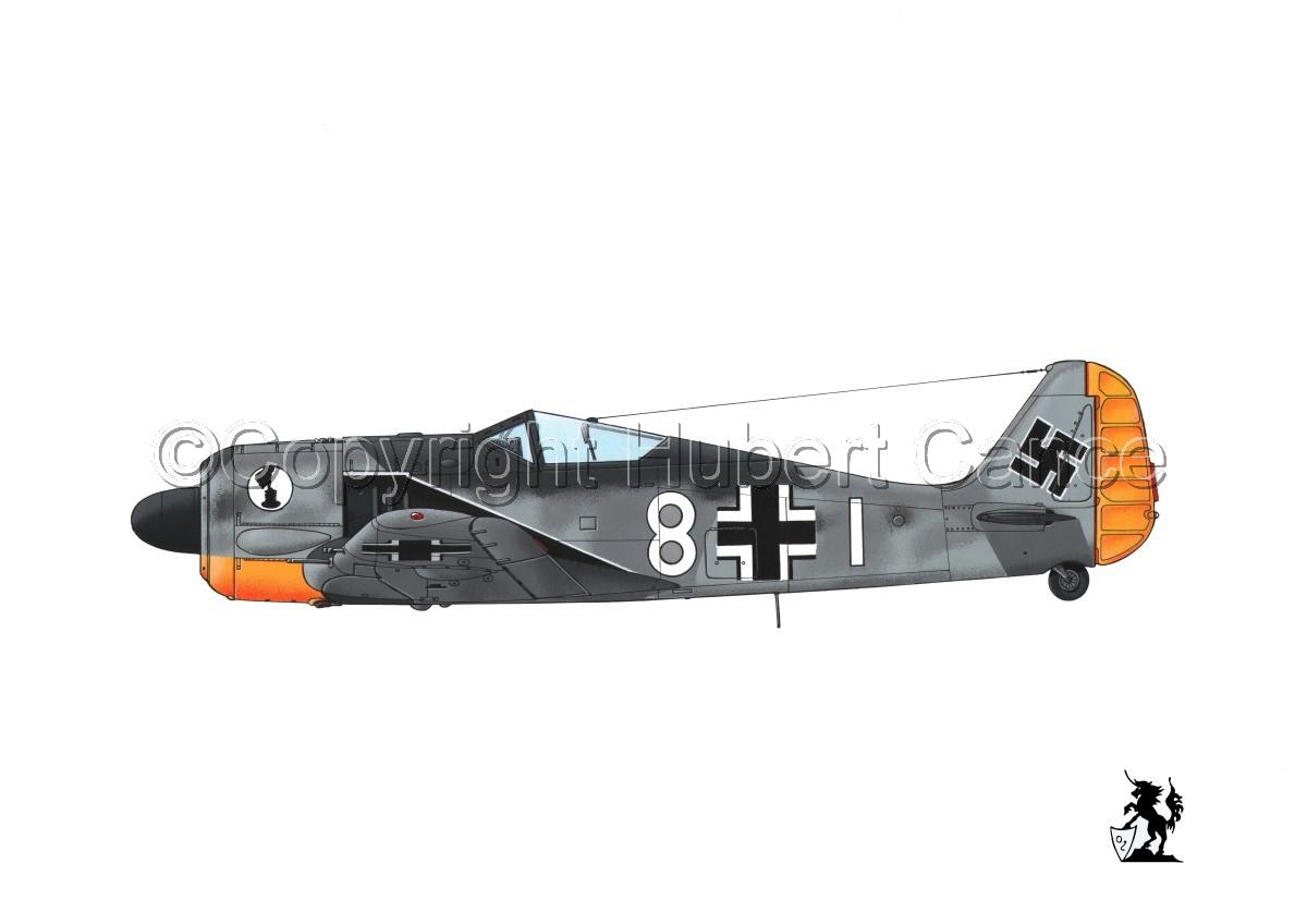 Focke-Wulf Fw 190A-3 #4bis.1 (large view)