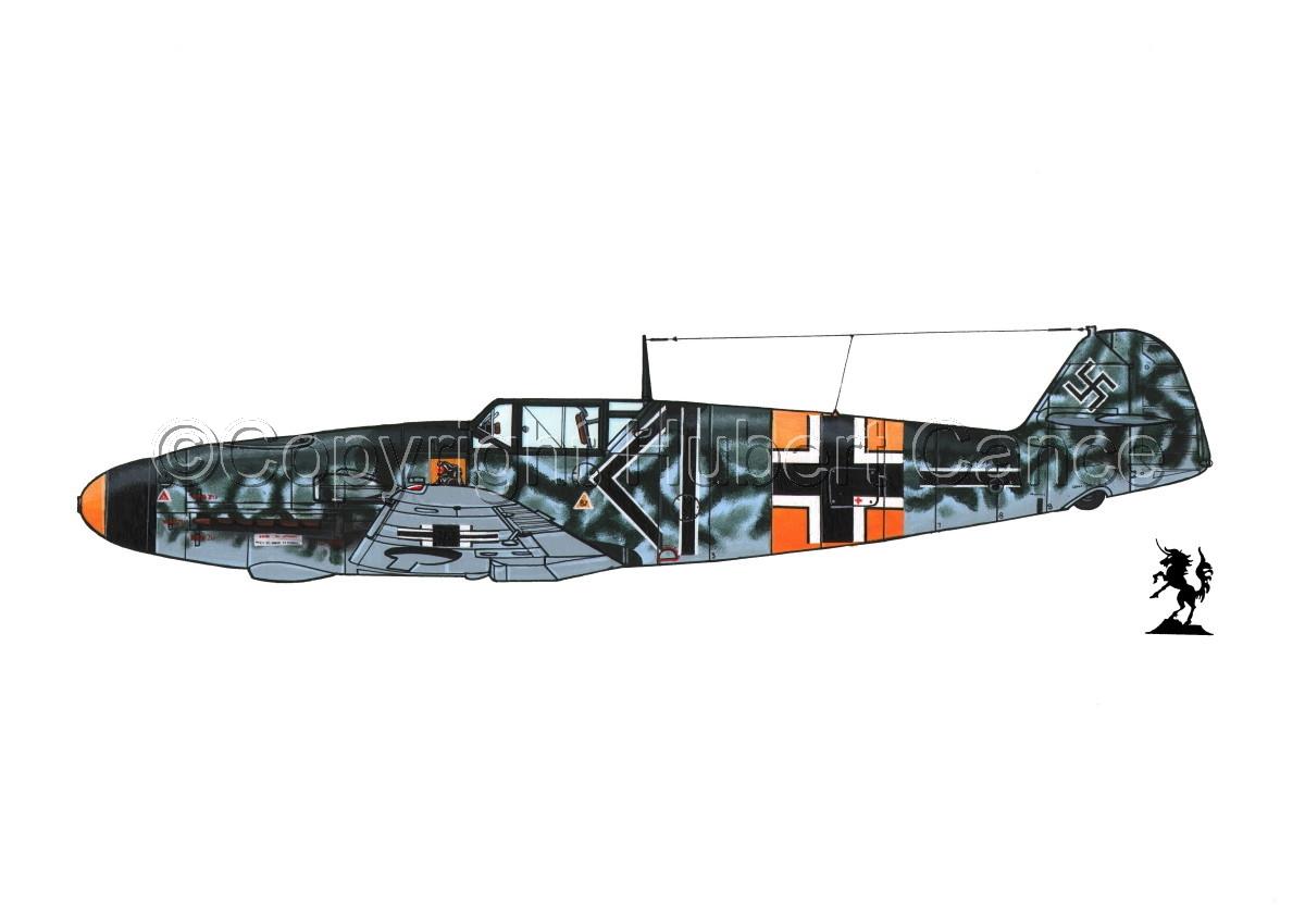 """Messerschmitt Bf 109F-2 """"Friedrich"""" #1.1 (large view)"""