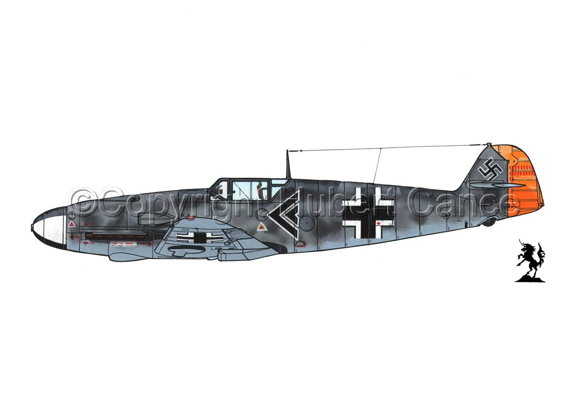 "Messerschmitt Bf 109F-2 ""Friedrich"" #2.1 (large view)"