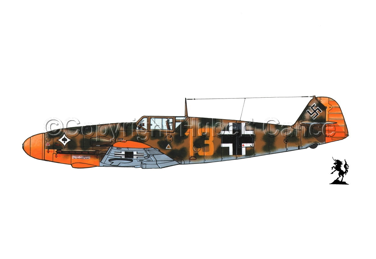 "Messerschmitt Bf 109F-2 ""Friedrich"" #3.1 (large view)"