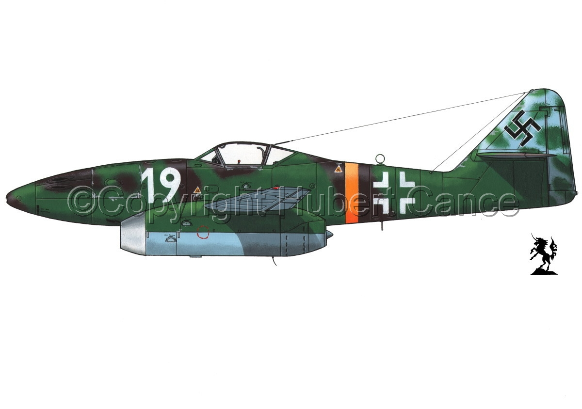 "Messerschmitt Me 262A-1a ""Schwalbe"" #1.1 (large view)"