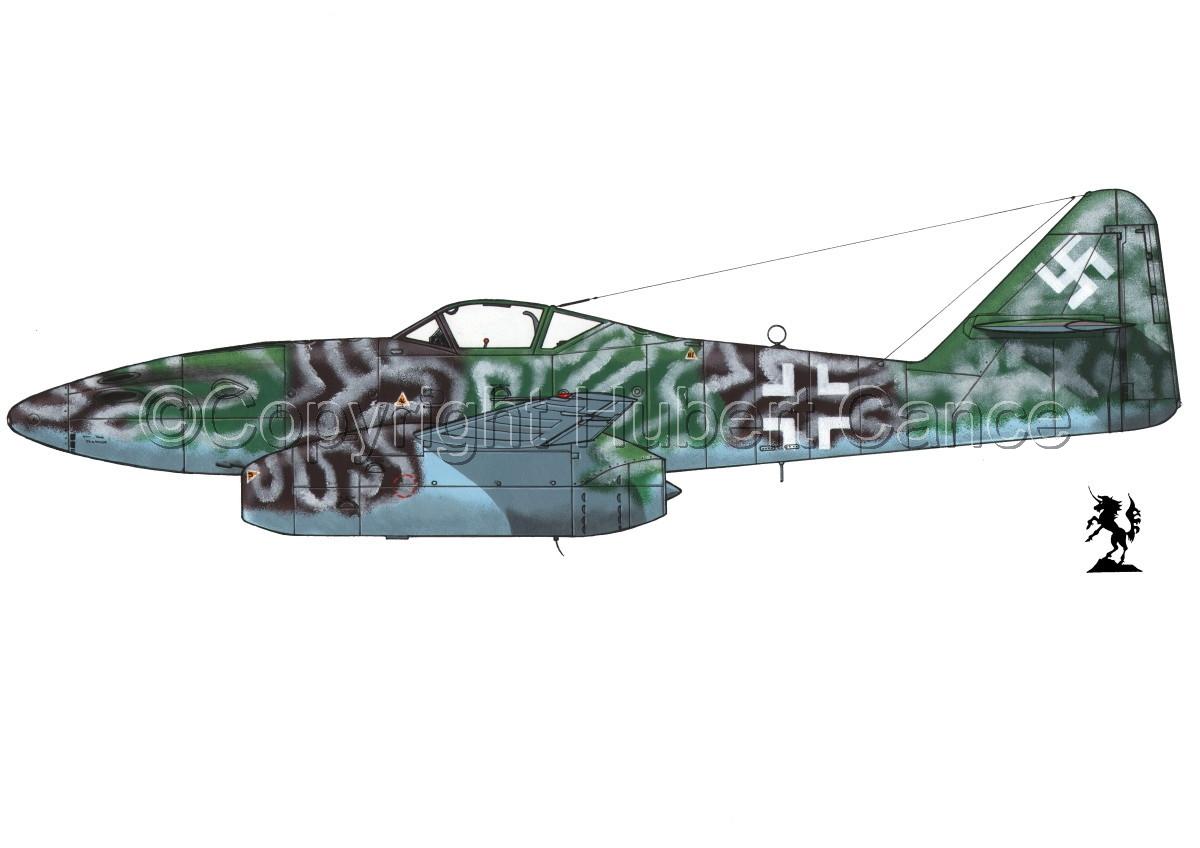 """Messerschmitt Me 262A-1a """"Schwalbe"""" #2.1 (large view)"""