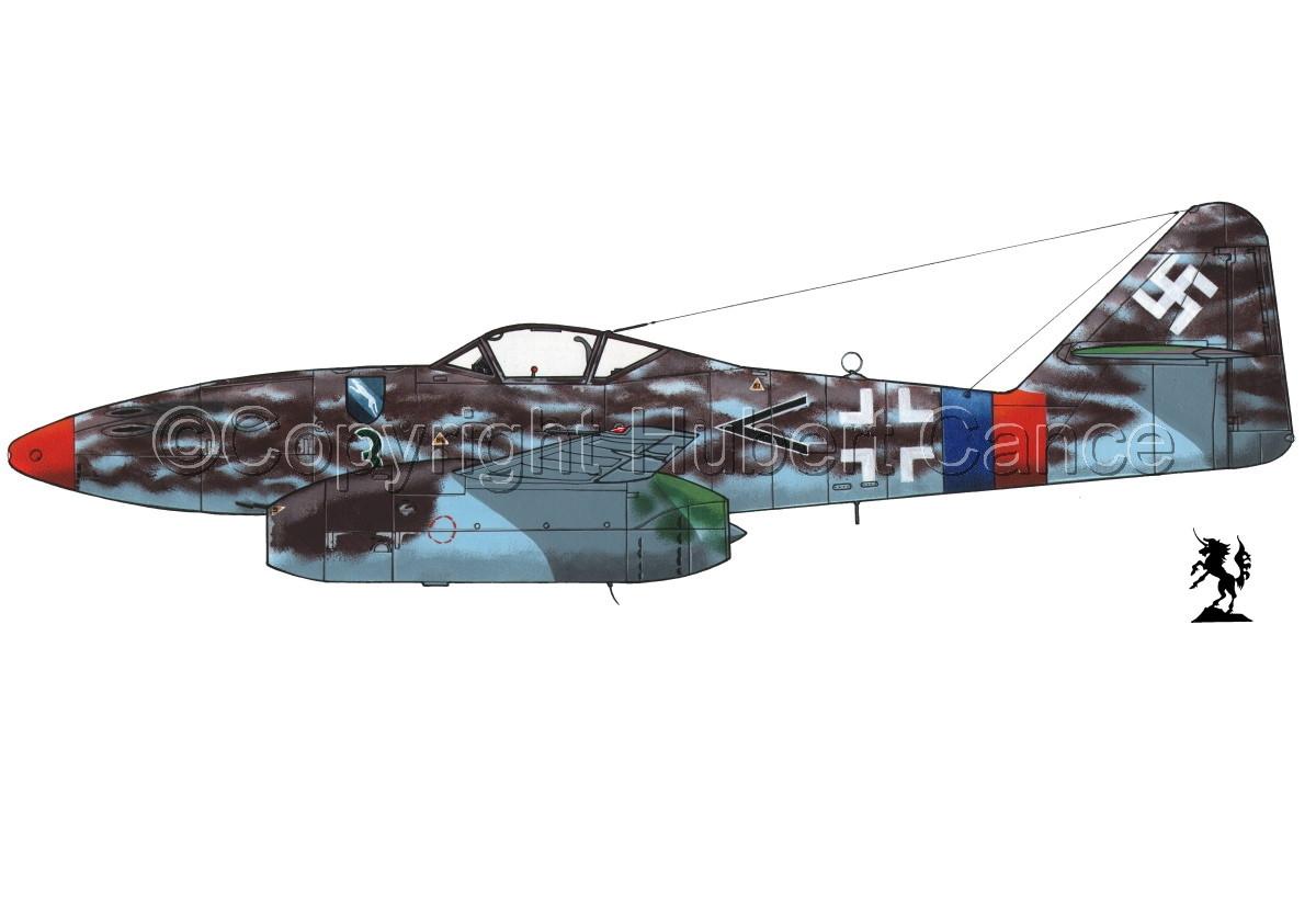 """Messerschmitt Me 262A-1a """"Schwalbe"""" #3.1 (large view)"""