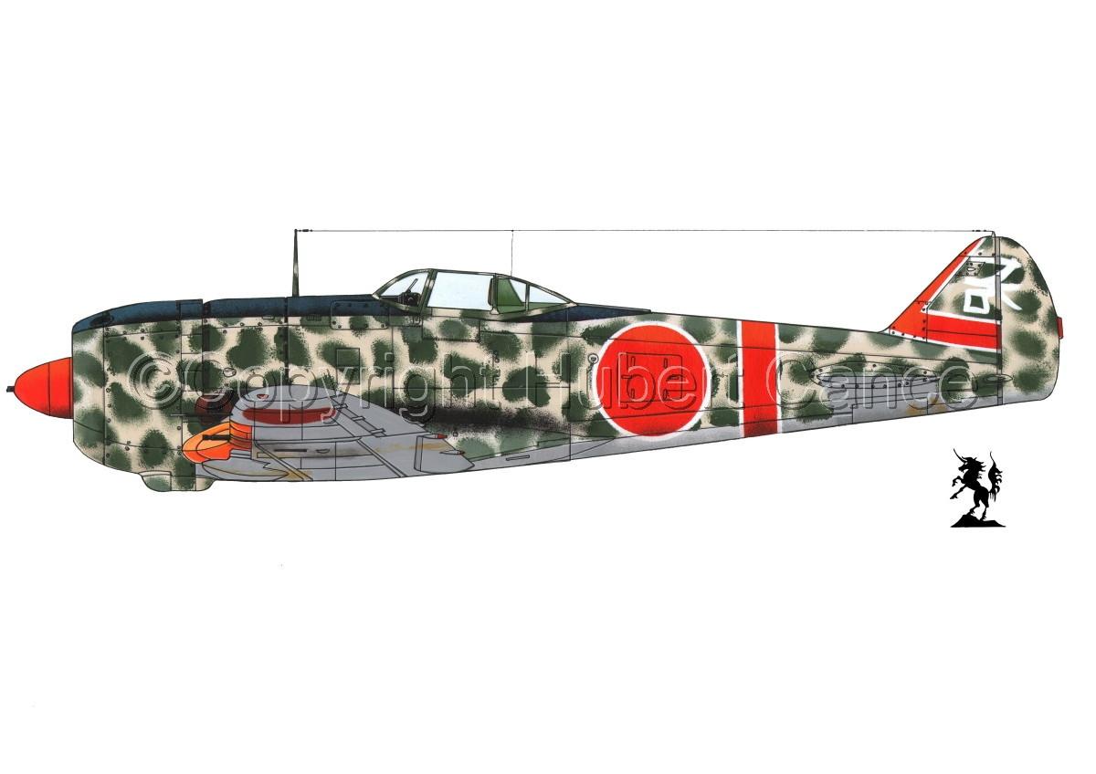 """Nakajima Ki.44-II Otsu """"Shoki"""" (Tojo) #1.1 (large view)"""