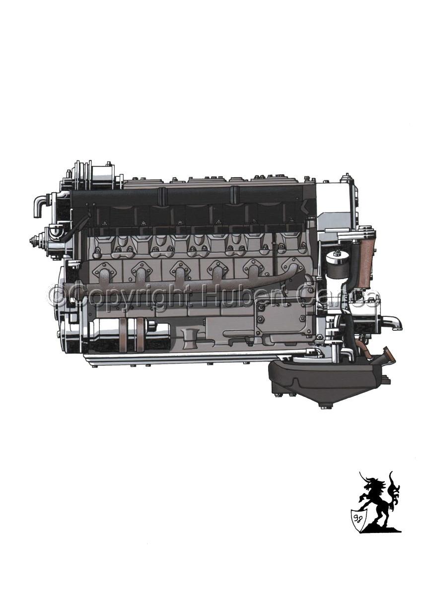 Tatra V10 Engine (large view)