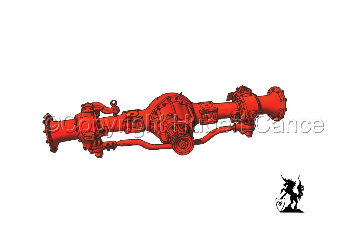 Kenworth Front Axle (large view)