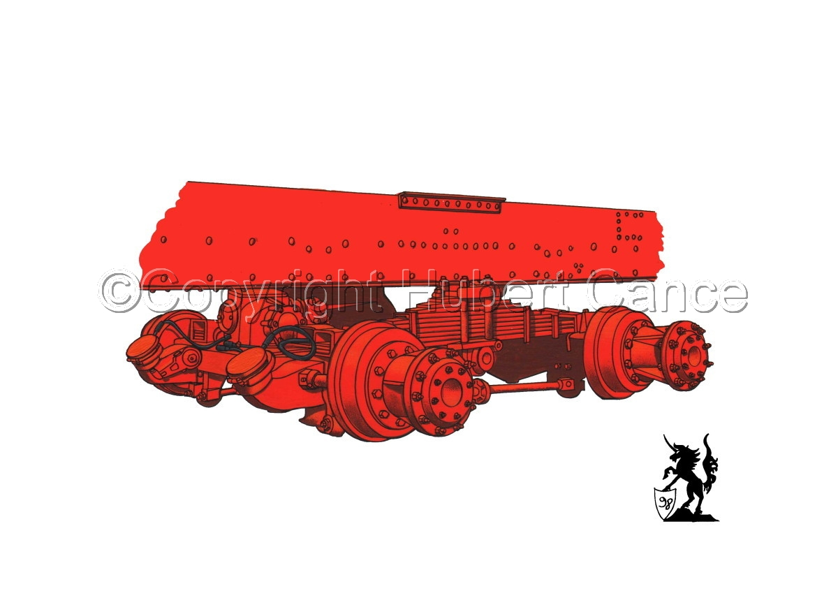 Kenworth Dual Rear Axle (large view)