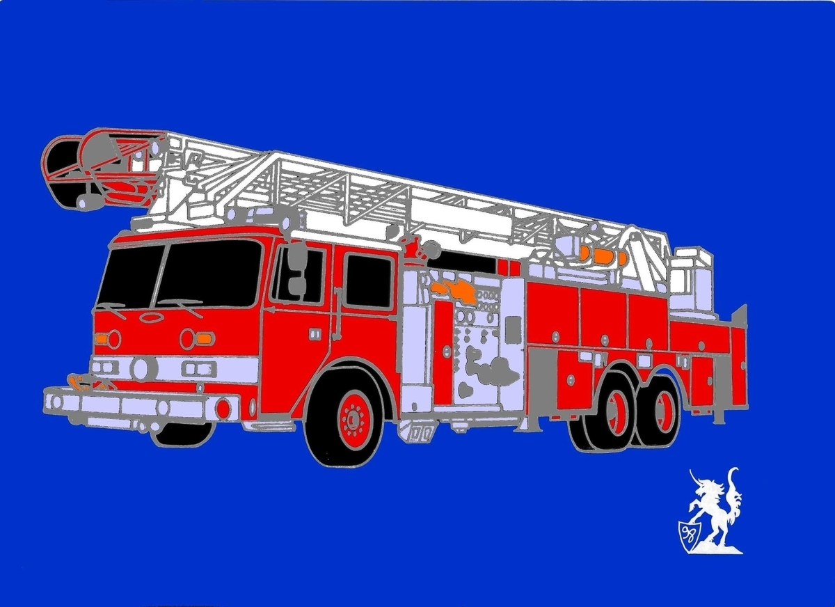 Pierce Fire Truck (Pin) (large view)
