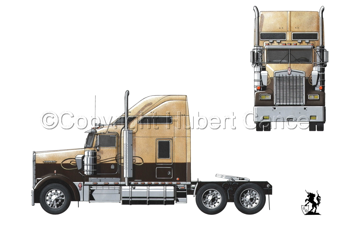 Kenworth W900L #0.0 (large view)