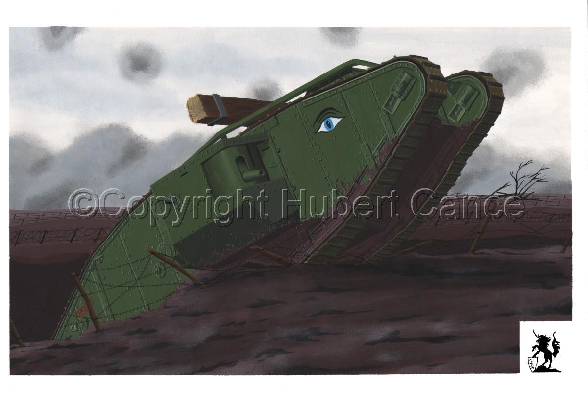 WW1 British Tank Mk.IV #1.1 (large view)