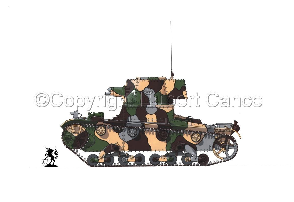 Vickers 6 Ton. Tank Model E #1.1 (large view)