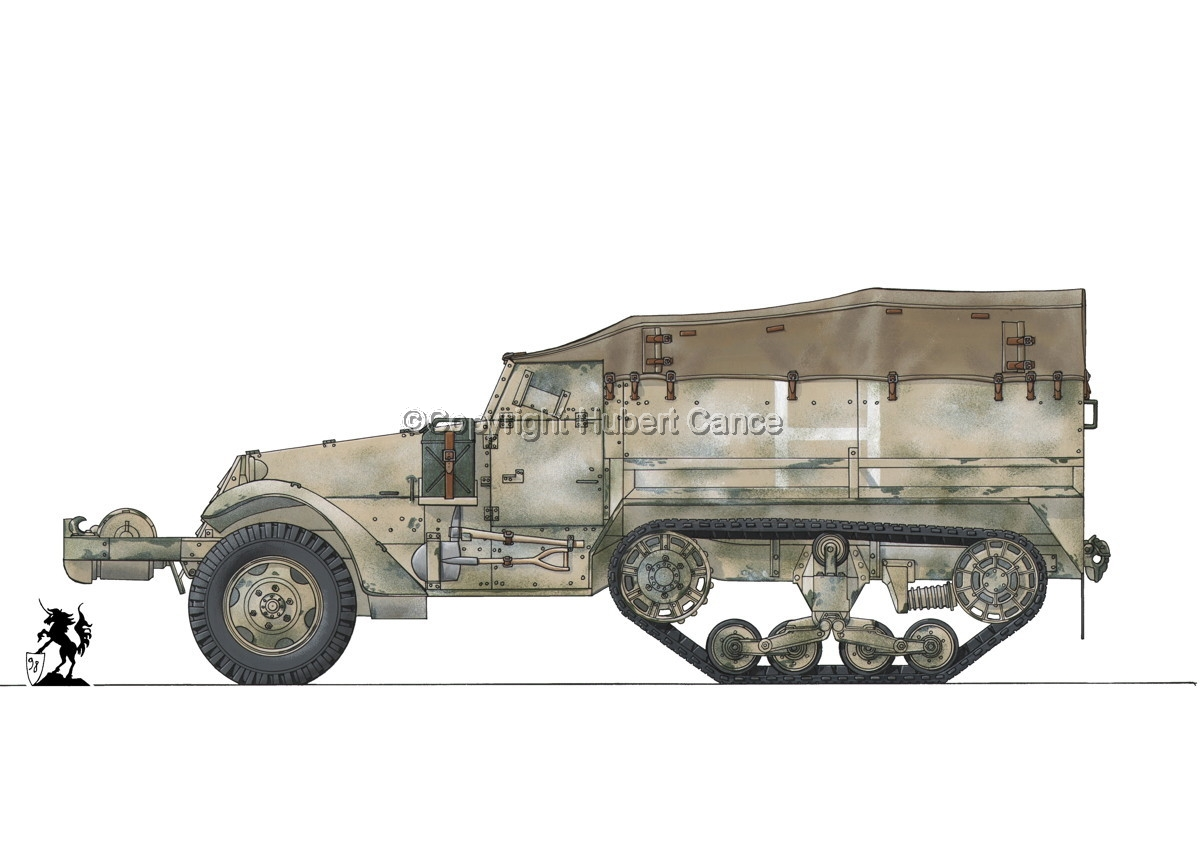 M3 Half-Track #1.1 (large view)