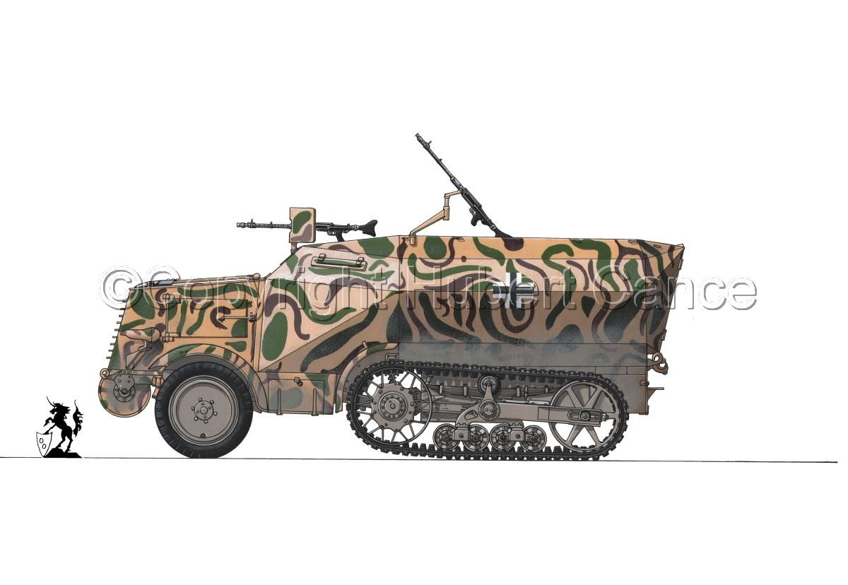 Leichter Schützenpanzerwagen (2.Ausf.) auf Unic P-107 U.304(f) #1 (large view)