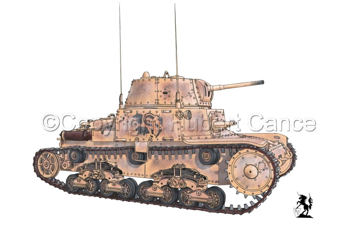 M13/40 medium Tank #1.1 (large view)