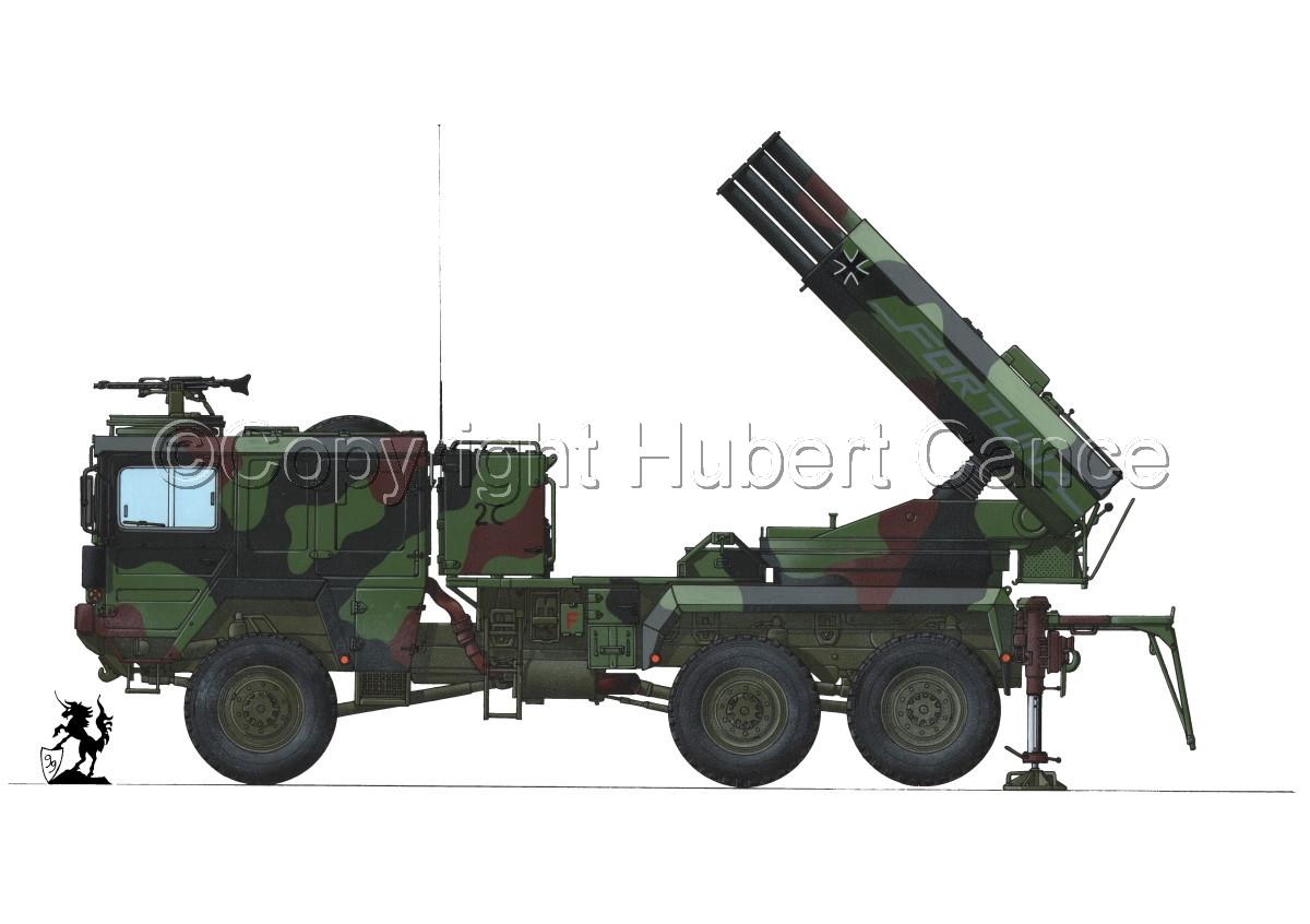Raketenwerfer 110 mm auf Selbstfahrlafette 2 #1.1 (large view)