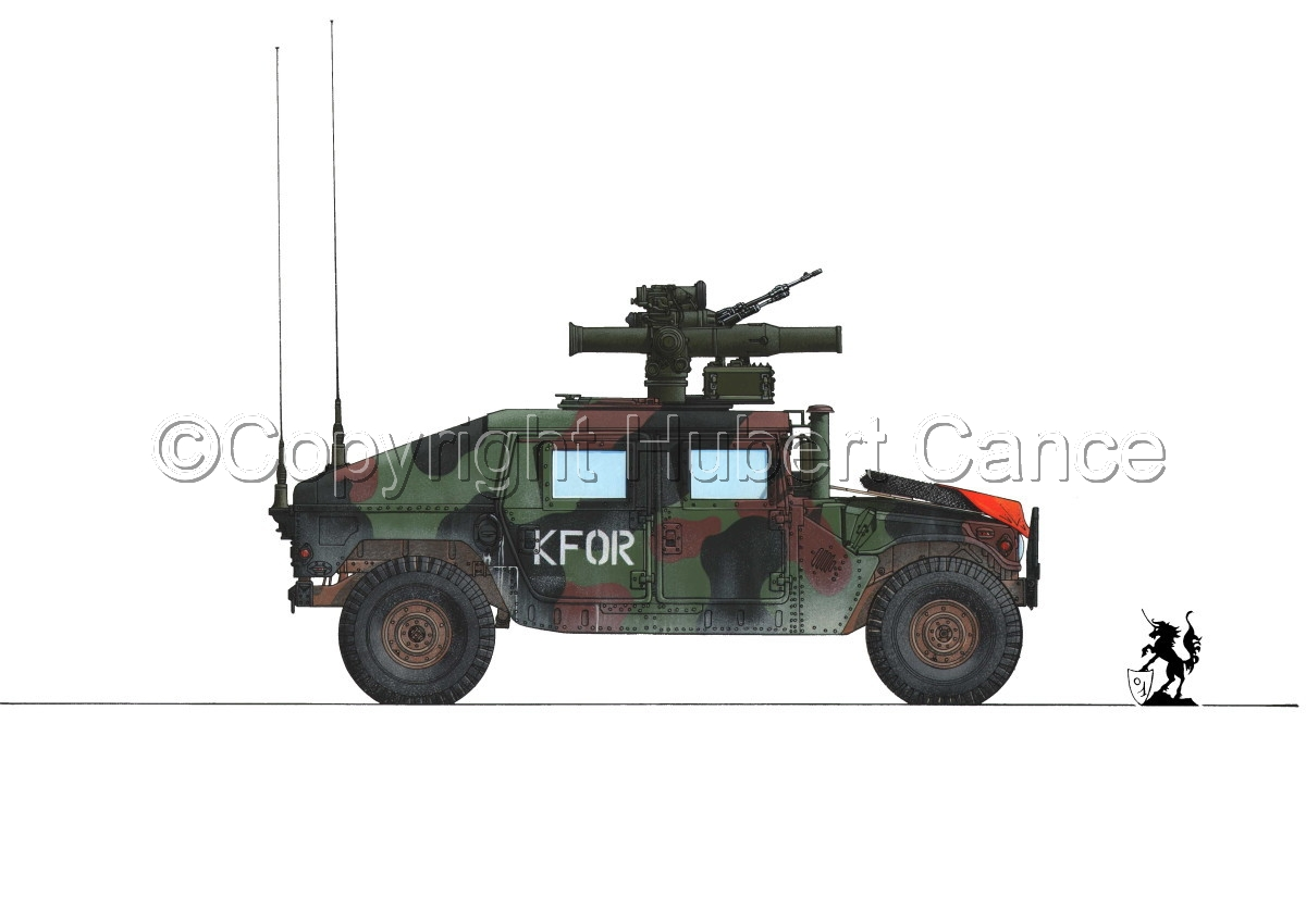 AMC M1045 HMMWV Tow Carrier #1.1 (large view)